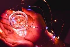 Bokeh de luces imagen de archivo