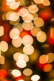 Bokeh de Noël Photos stock