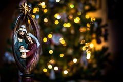 Bokeh de Noël Image libre de droits