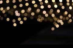 Bokeh de Noël Photo libre de droits