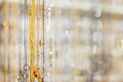 Bokeh of the decorations Stock Images