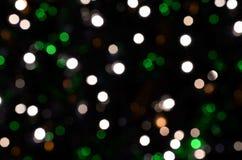 Bokeh. Defocused lights blurry background, bokeh stock photo