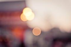 Bokeh defocused of sunset Stock Images