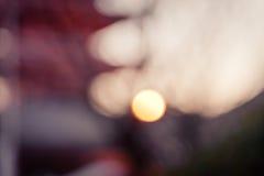 Bokeh defocused of sunset Royalty Free Stock Photography