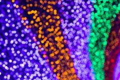 Bokeh del arco iris Fotos de archivo libres de regalías