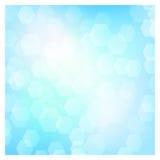 Bokeh del azul de cielo Fotos de archivo