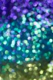 Bokeh del brillo Imagen de archivo libre de regalías