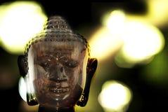 Bokeh del Buddha Fotografia Stock