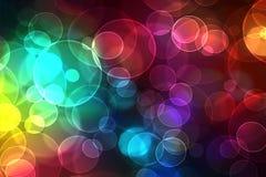 Bokeh del color Imágenes de archivo libres de regalías