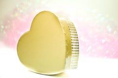 Bokeh del corazón Foto de archivo