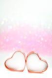 Bokeh del corazón Imagen de archivo libre de regalías