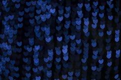 Bokeh del corazón Imagen de archivo