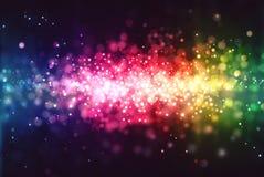 Bokeh del espectro Imágenes de archivo libres de regalías
