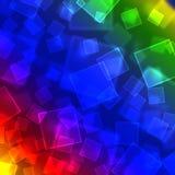 Bokeh del fondo del arco iris Ilustración del Vector