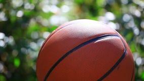 Bokeh del giardino di pallacanestro nessuno