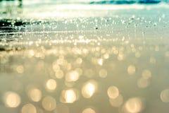 Bokeh del mar Imagen de archivo