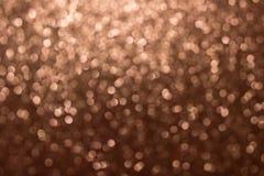 Bokeh del oro, fondo abstracto creado por las luces de neón libre illustration