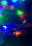 Bokeh del ` s del nuovo anno Fotografie Stock Libere da Diritti