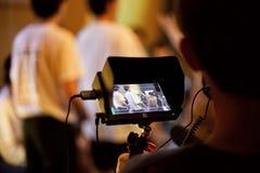 Bokeh dell'attrezzatura della videografia fotografia stock libera da diritti