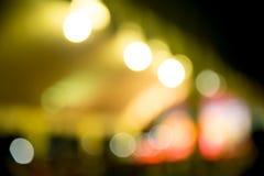 Bokeh della luce di Coloful al partito Fotografie Stock Libere da Diritti