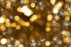 Bokeh di Natale Immagine Stock