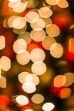 Bokeh di Natale Fotografie Stock