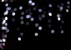 Bokeh di notte Immagine Stock