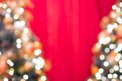 Bokeh do defocus do Natal Fotografia de Stock Royalty Free
