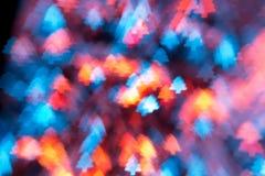 Bokeh do Natal três Imagem de Stock Royalty Free