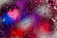 Bokeh droplets Royalty Free Stock Images