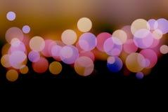 Bokeh e fondo di colore fotografia stock libera da diritti