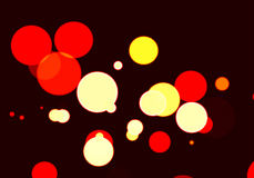Bokeh effect with colours background Royalty Free Stock Images