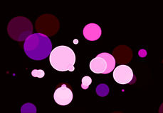 Bokeh effect with colours background Stock Photo