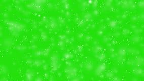 Bokeh effect on green screen. Blur bokeh effect video on green screen background royalty free illustration