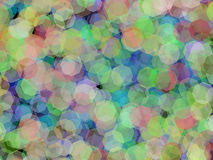 Bokeh effect wallpaper illustration Royalty Free Stock Image