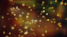 Bokeh effekt från suddiga viktig och reflexioner på färgrik bakgrund royaltyfri fotografi