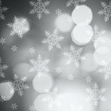 Bokeh enciende el fondo hermoso de la Navidad Foto de archivo