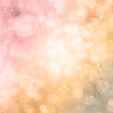 Bokeh färgrik bakgrund Royaltyfri Fotografi
