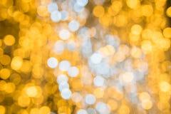 Bokeh för abstrakt begrepp för julljus bakgrund Royaltyfri Fotografi