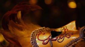 Bokeh för ljusa färger för Carnaval maskeringsstudio