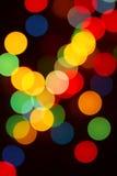 Bokeh för nytt år Arkivbilder