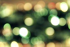 Bokeh-Farbbeleuchtungshintergrund, Unschärfe des Lichtes Lizenzfreies Stockfoto