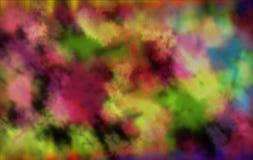 bokeh Farbkonzepthintergrund lizenzfreie abbildung