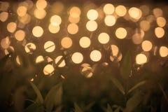 Bokeh festivo del día de fiesta Fondo abstracto de la celebración Imagen de archivo libre de regalías