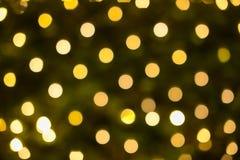 Bokeh festivo hermoso del día de fiesta Fondo abstracto de la celebración Foto de archivo libre de regalías