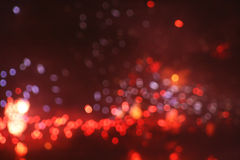 Bokeh of fireworks Royalty Free Stock Image
