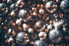 Bokeh Fond abstrait de Noël avec le bokeh coloré Photographie stock libre de droits