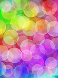 Bokeh foreground Royalty Free Stock Images