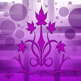 Bokeh frame   pattern. Purple pattern   bokeh   layers  pattern background effect Stock Photos