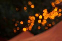 Bokeh gör sammandrag ljusa bakgrunder, suddiga ljus, partiljus Arkivbild